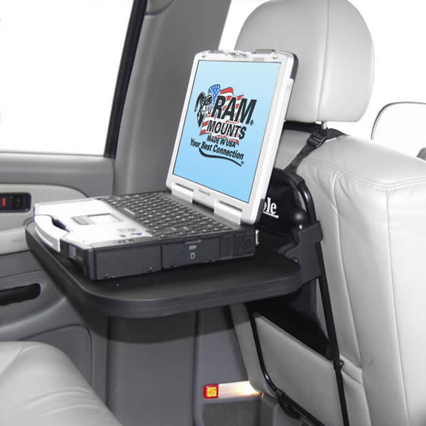 RAM Mount Plastic Rear Seat RAM Laptop Tray