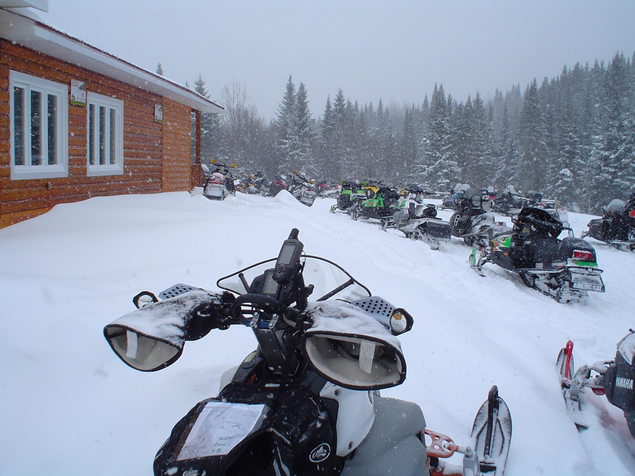 Skidoo Gps And Mount Photos Articles 2014 Ski Doo Snowmobile Headlight Wiring Diagram Saturday Morning Star From Kamouraska Qc Direction To Moose Valley Nb A Loop At Edmundston Return For Is First Test 535 Km In