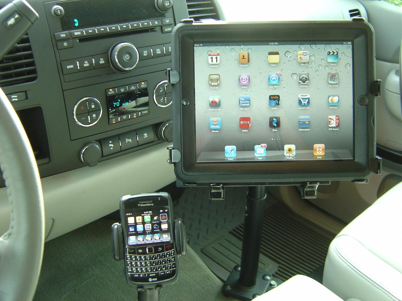 Used Chevy Bolt >> IPad Mount in 2011 GMC Sierra Gallery Article